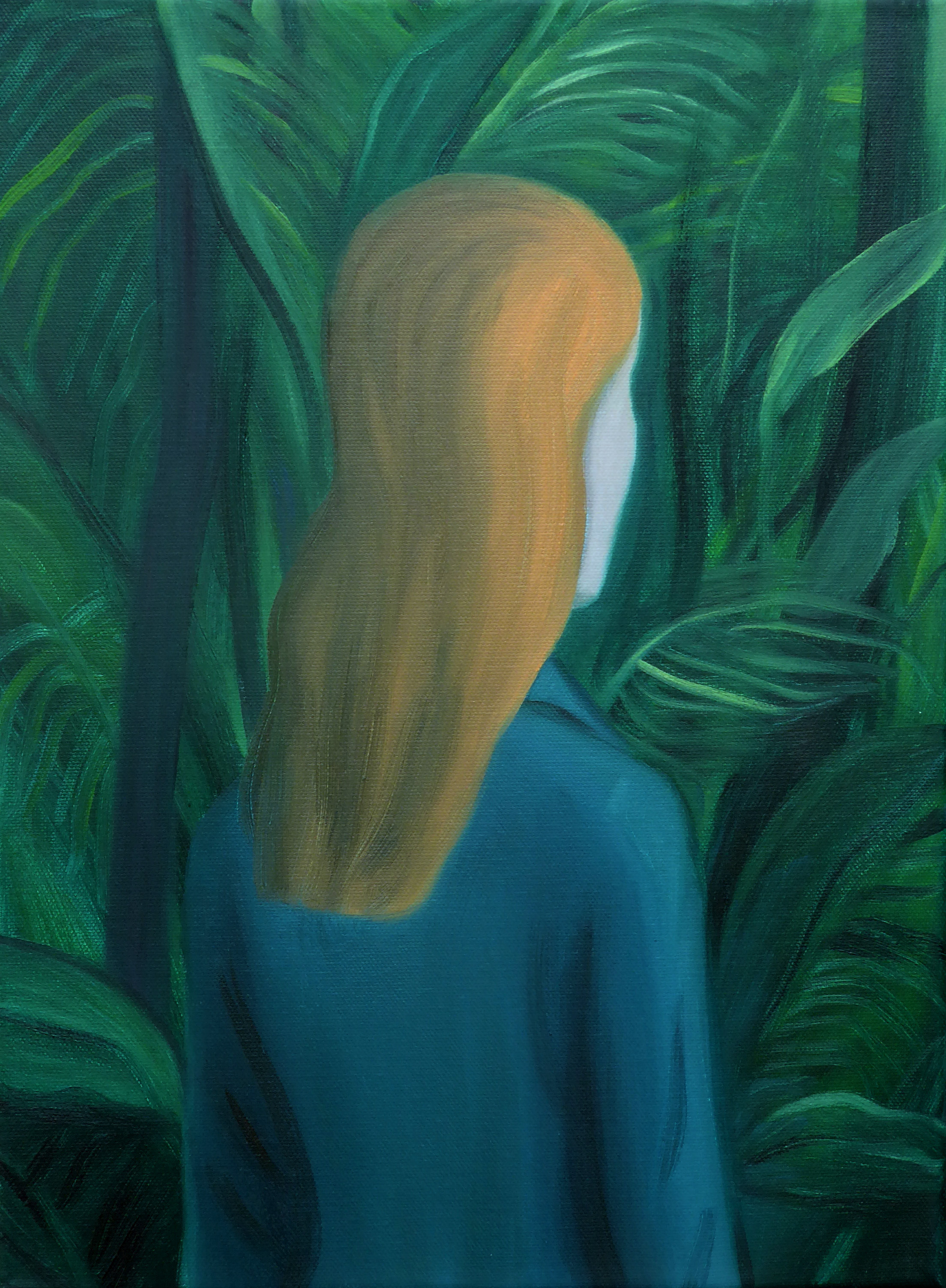 Lost in the Jungle - Oil on canvas