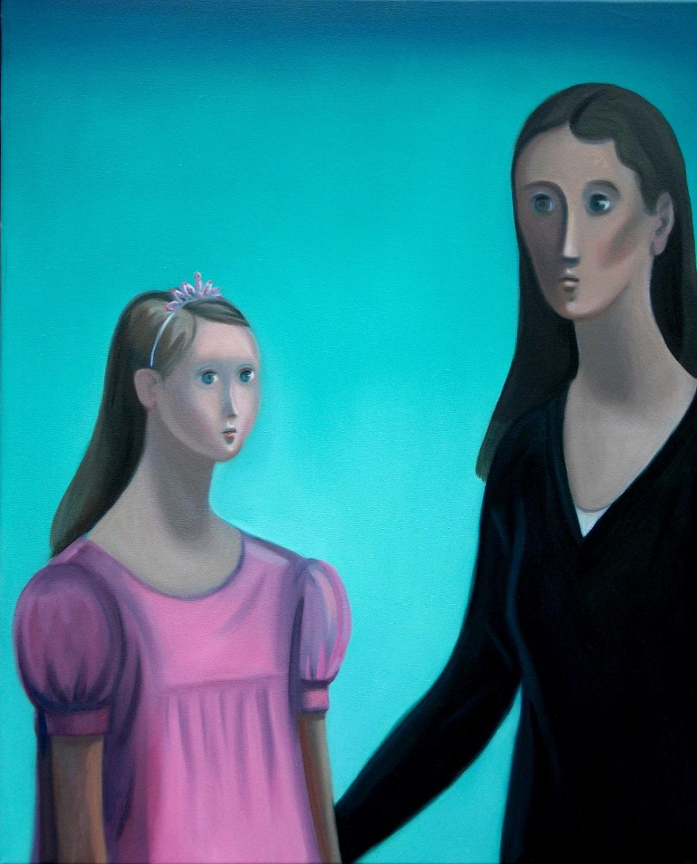 Tiara Oil on canvas 92x76cm
