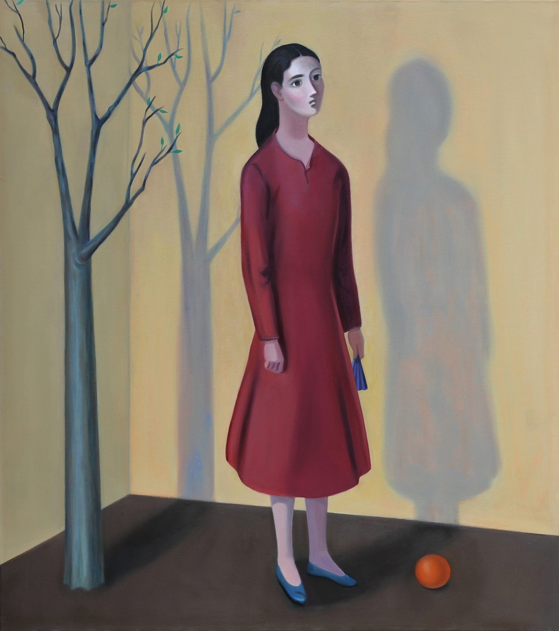 Sonia Martin Composition (The Outsider) Oil on canvas 137x121cm – Copy (2)